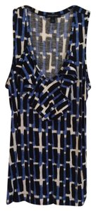 Banana Republic Top Black, blue, white