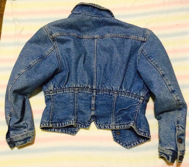 United Colors of Benetton blue denim Womens Jean Jacket