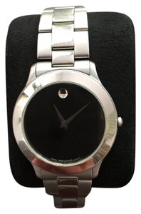 Movado Movado Men's Museum Black Dial Stainless Steel 38mm. 84.D1.862.2