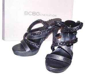 BCBGeneration Pewter Pumps Pewter; Vintage metallic Sandals