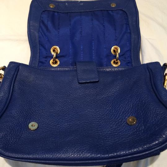 Marc by Marc Jacobs Leather Cobalt Designer Tote in Blue