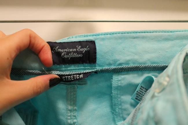 American Eagle Outfitters Straight Pants Blue