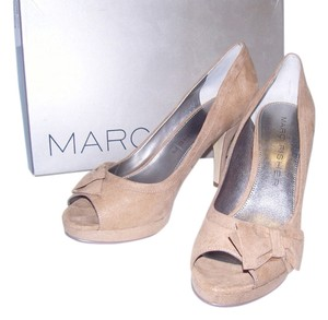 Marc Fisher Tan Taupe Pumps