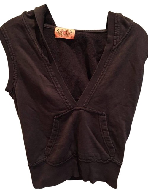 Preload https://item4.tradesy.com/images/juicy-couture-brown-vest-size-4-s-10403458-0-4.jpg?width=400&height=650