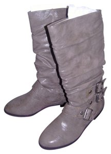 Material Girl Taupe Boots