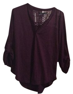 Almost Famous Clothing Top Purple