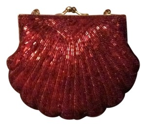 Carlo Fellini Red Clutch