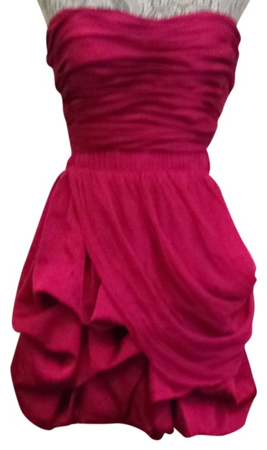 Preload https://item3.tradesy.com/images/bebe-new-bright-raspberry-7065t1014929-cocktail-dress-size-8-m-1040427-0-0.jpg?width=400&height=650