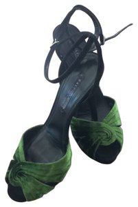 Ralph Lauren Green/Black Pumps