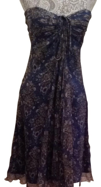Preload https://img-static.tradesy.com/item/1040438/laundry-by-shelli-segal-blue-and-grey-knee-length-night-out-dress-size-4-s-0-0-650-650.jpg