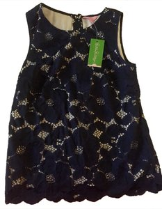 Lilly Pulitzer Lily Never-worn New Top Navy