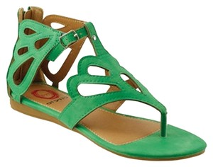 Red Circle Footwear Emerald Sandals