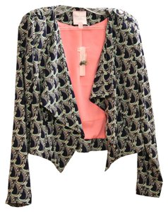Romeo & Juliet Couture Pattern Blue Blazer