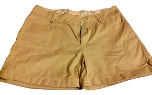 Lee Mini/Short Shorts Tan