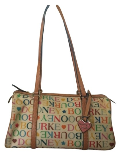 Preload https://item2.tradesy.com/images/dooney-and-bourke-handbag-multicolor-coated-canvas-leather-satchel-10405411-0-1.jpg?width=440&height=440