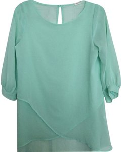 Everly Top Mint