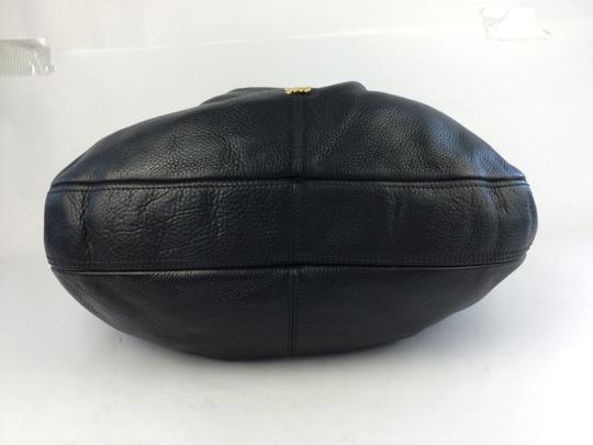 Burberry Leather Hobo Bag
