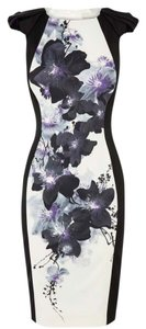 Karen Millen Print Elegant Design Brand New Dress