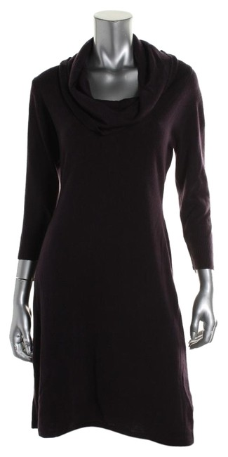 Preload https://item1.tradesy.com/images/connected-apparel-egg-plant-sweater-above-knee-workoffice-dress-size-petite-8-m-10406035-0-1.jpg?width=400&height=650