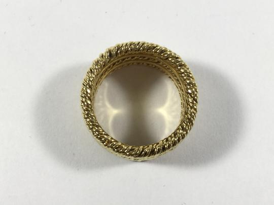 Tiffany & Co. Elegant Tiffany and Co. Wide Gold Band