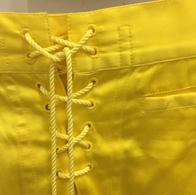 Ralph Lauren Collection Mini Skirt Yellow