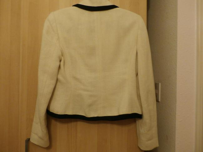 Ralph Lauren Linen Fully Lined Cream with Black piping Jacket