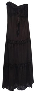 Blk Maxi Dress by Rosario Ruiz
