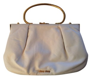 Miu Miu Satchel in White