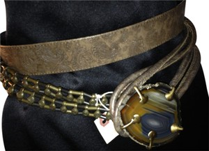Italian,Bronze,and,Agate,Belt,