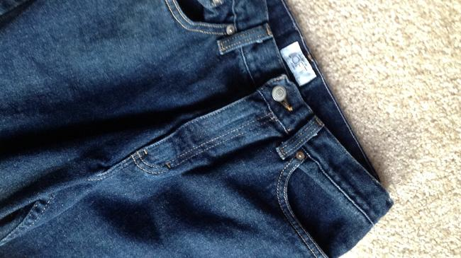 Ann Taylor LOFT Bootleg Cotton Relaxed Fit Jeans