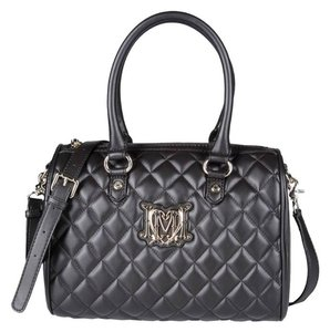 Love Moschino Quilted Chanel Speedy Tote in Dark Brown