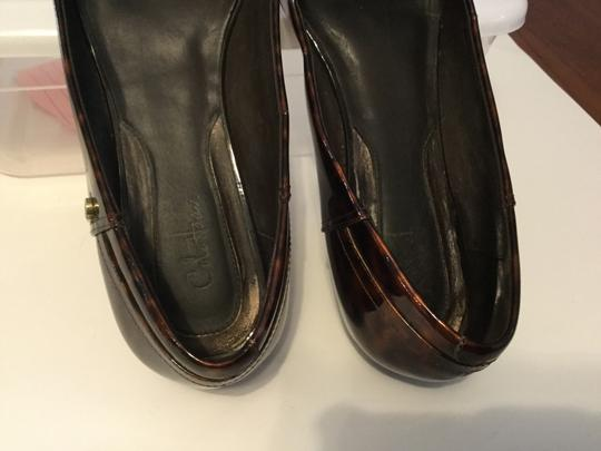 Cole Haan Make an offer Tortoiseshell patent all leather NikeAir soles cute strap buickle Flats