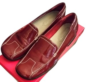 Kenneth Cole Ruby Red Flats