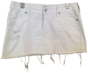 Bullhead Denim Co. Mini Skirt White