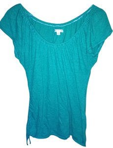 American Eagle Outfitters Cinch T Shirt Teal
