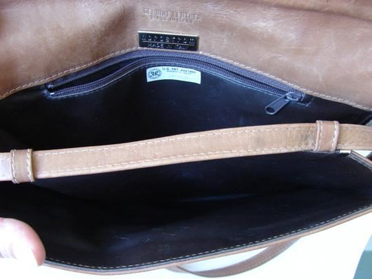 Nordstrom Made In Italy brown Clutch