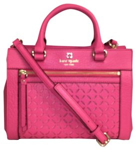 Kate Spade Leather Cross Body New (nwt) Satchel in Pink