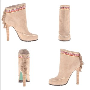 Donald J. Pliner Lisa For J Tan Multi Boots