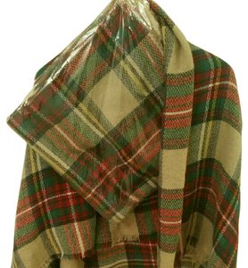 Other Popular Brown Plaid Tartan Blanket Scarf