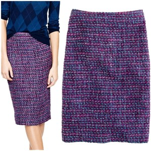 J.Crew Skirt Purple tweed