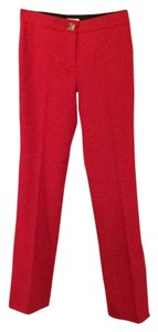 Kate Spade Flare Pants Red