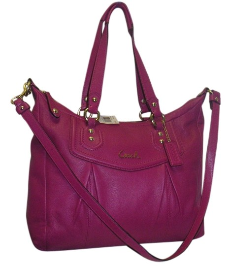 Preload https://item2.tradesy.com/images/coach-ashley-new-with-tag-magenta-f20104-leather-satchel-10409536-0-1.jpg?width=440&height=440