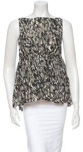 Giambattista Valli Top Grey, Black and White