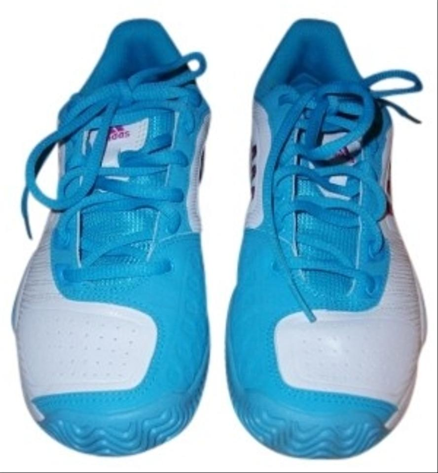 adidas White Turquoise Markings On Inside Tongue Are Ape 779001 05 ... 0516cffc3