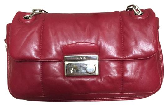 Preload https://item4.tradesy.com/images/prada-red-bomber-leather-shoulder-bag-10411543-0-1.jpg?width=440&height=440