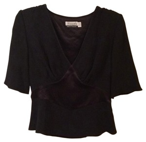 Temperley London Top Black