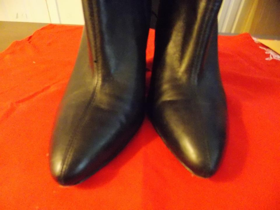 d860710669d Lord   Taylor Black Wedge Boots Booties. Size  US 9 Regular (M ...