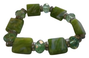 NEW FASHION BRACELET GREEN ELASTIC