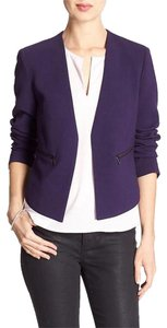 Banana Republic Pettite Blackberry purple Blazer