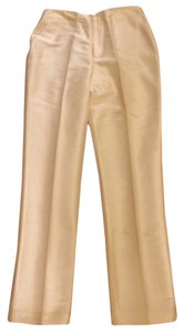 Ellen Tracy Straight Pants Yellow, light yellow